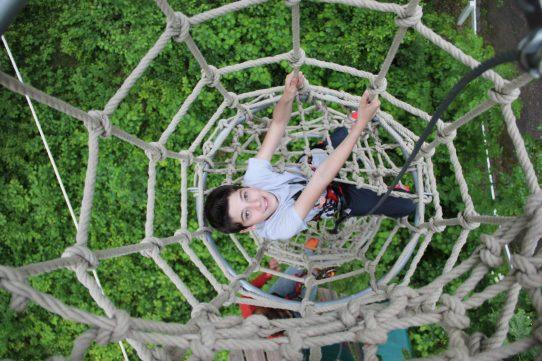 High rope climbing : Summer discount