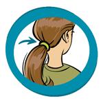 Cheveux attachés obligatoire