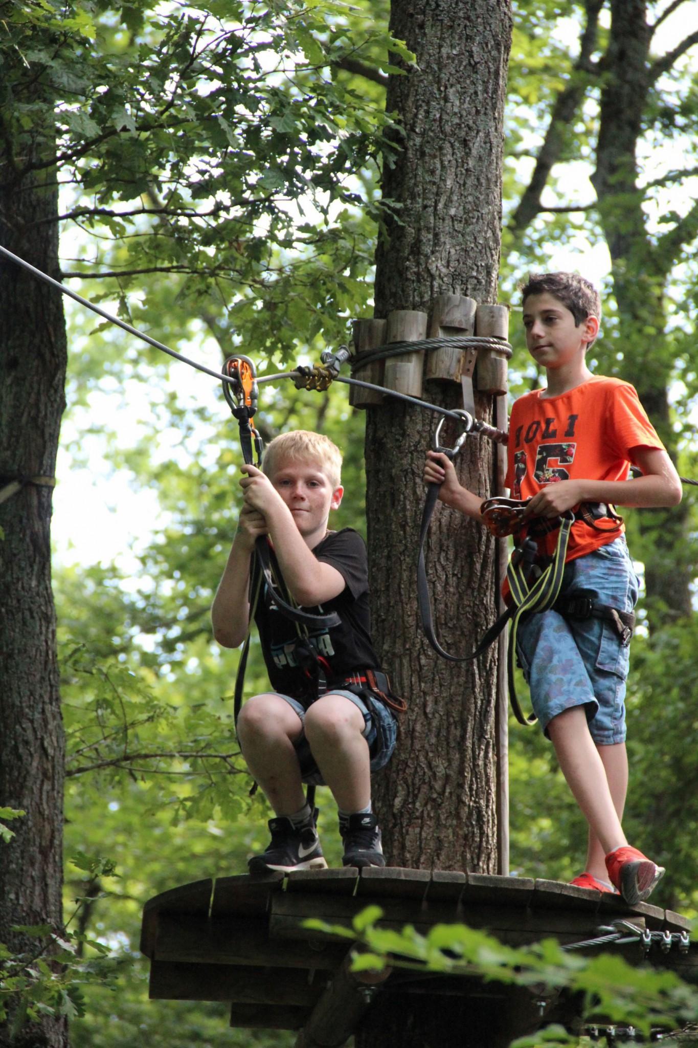 L'été au Parc Aventure Genève - l'activité idéale pour les familles
